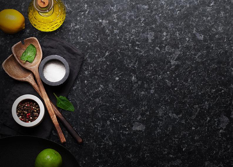 Agola Black Kitchen Worktop