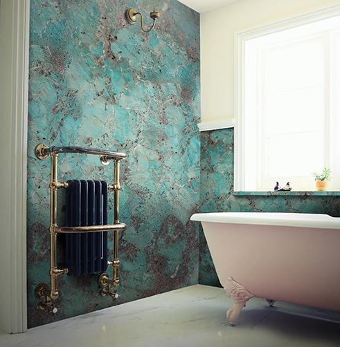 Amazonite Bathroom