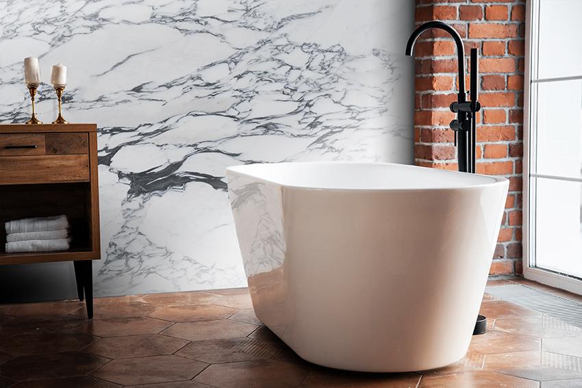 Arabascato Corchia Bathroom