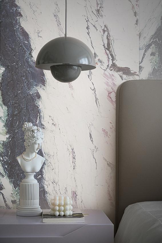 Breccia Capraia Feature Bedroom Wall