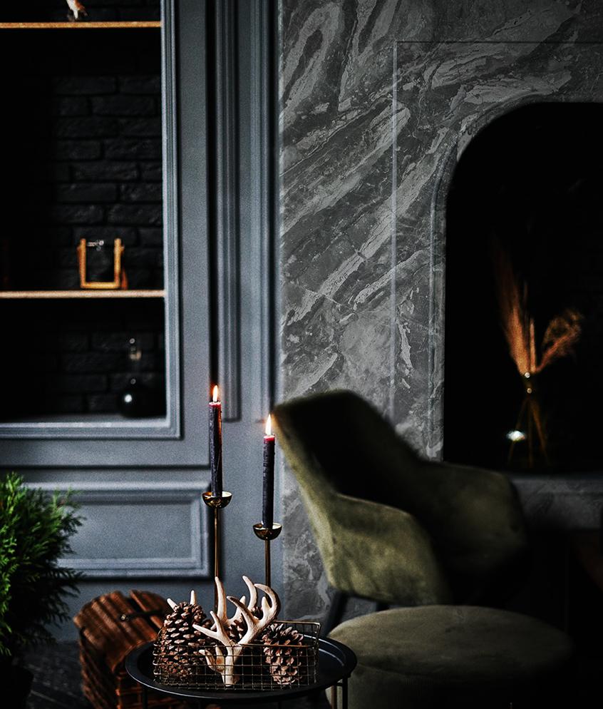 Breccia Supreme Fireplace