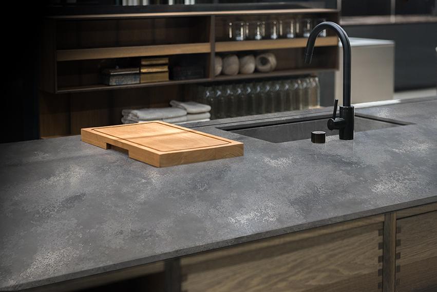 GC Concrete Quartz Kitchen Top