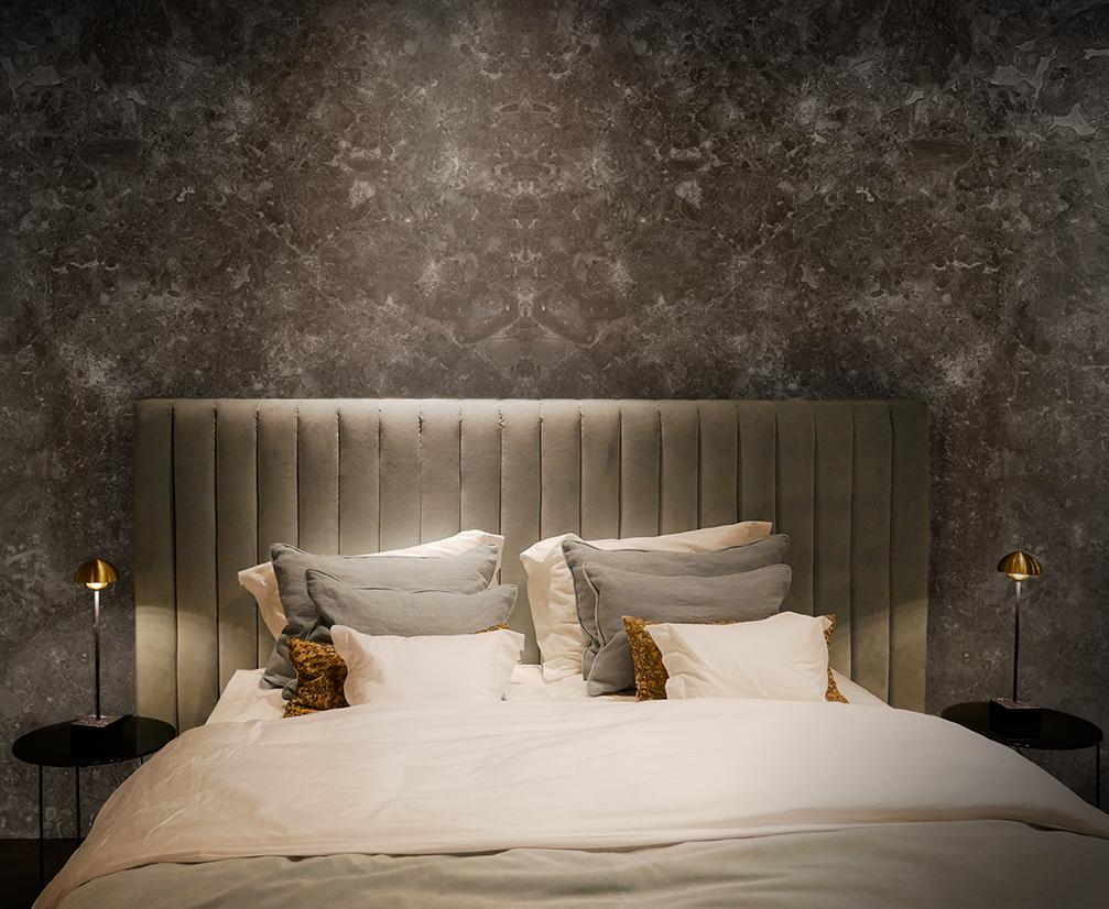 Grigio Billiemi Bedroom Wall