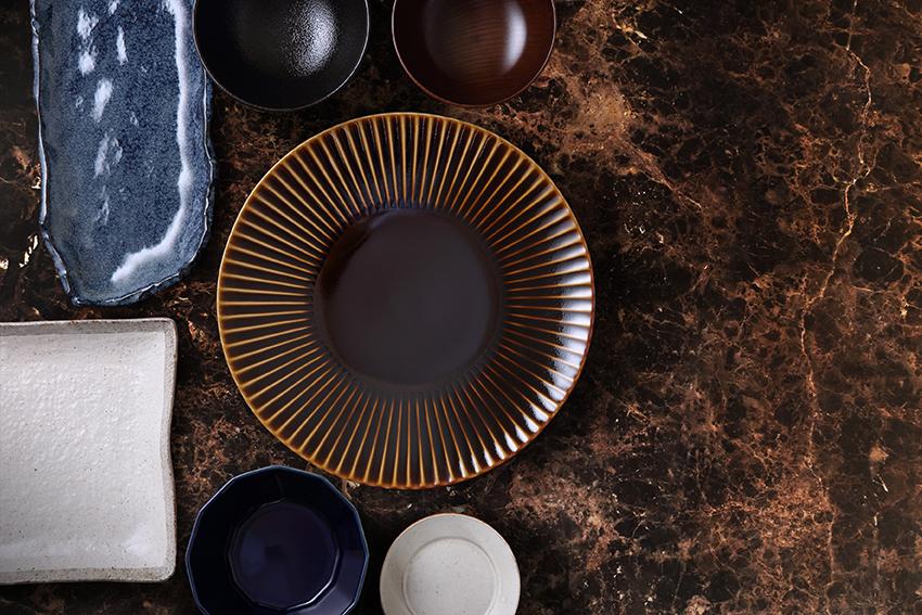 Marron Imperial Dark Ceramics