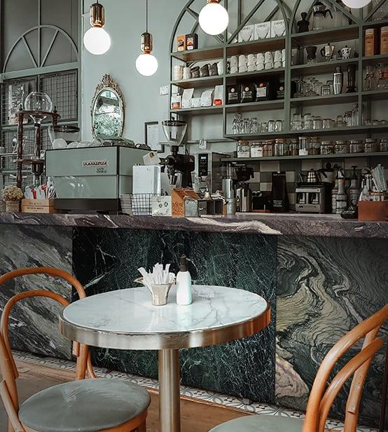 Mix + match Cafe Counter