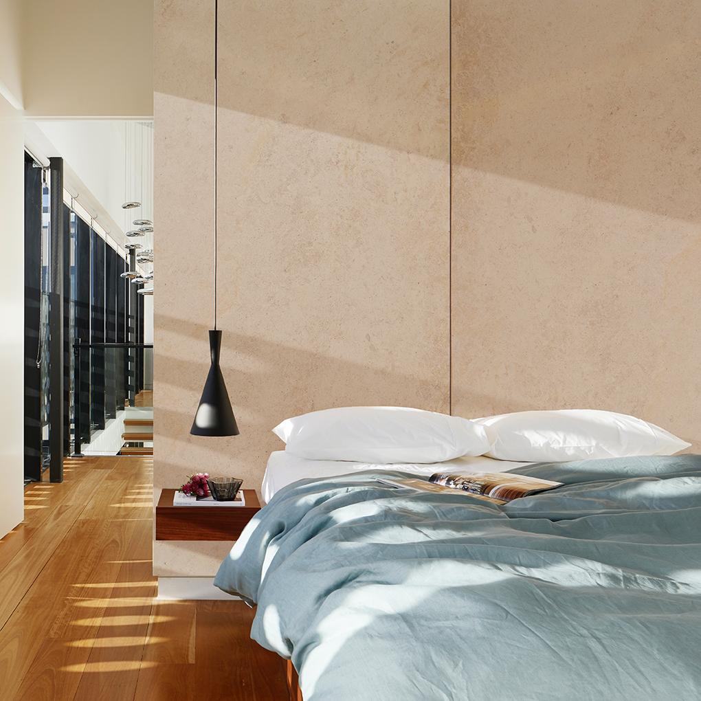 Moleanos Honed Bedroom Feature