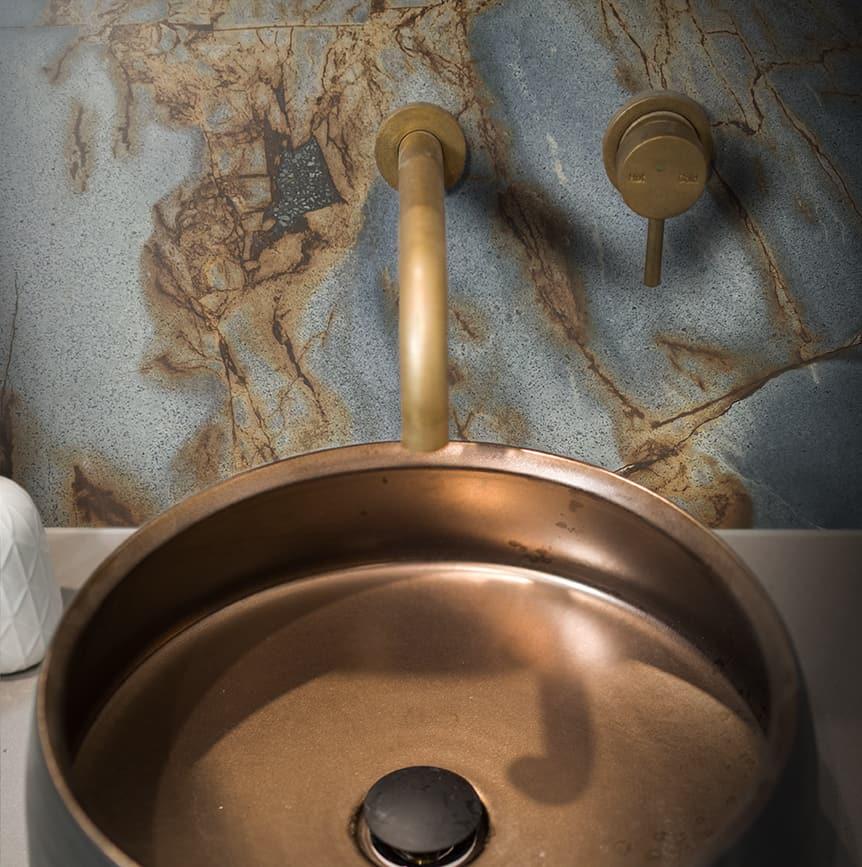 Roma Blue Bathroom